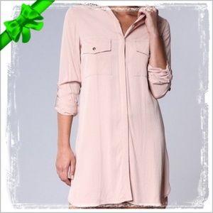Naked Zebra Button Up Shirt Dress #g8o13p06a19p25